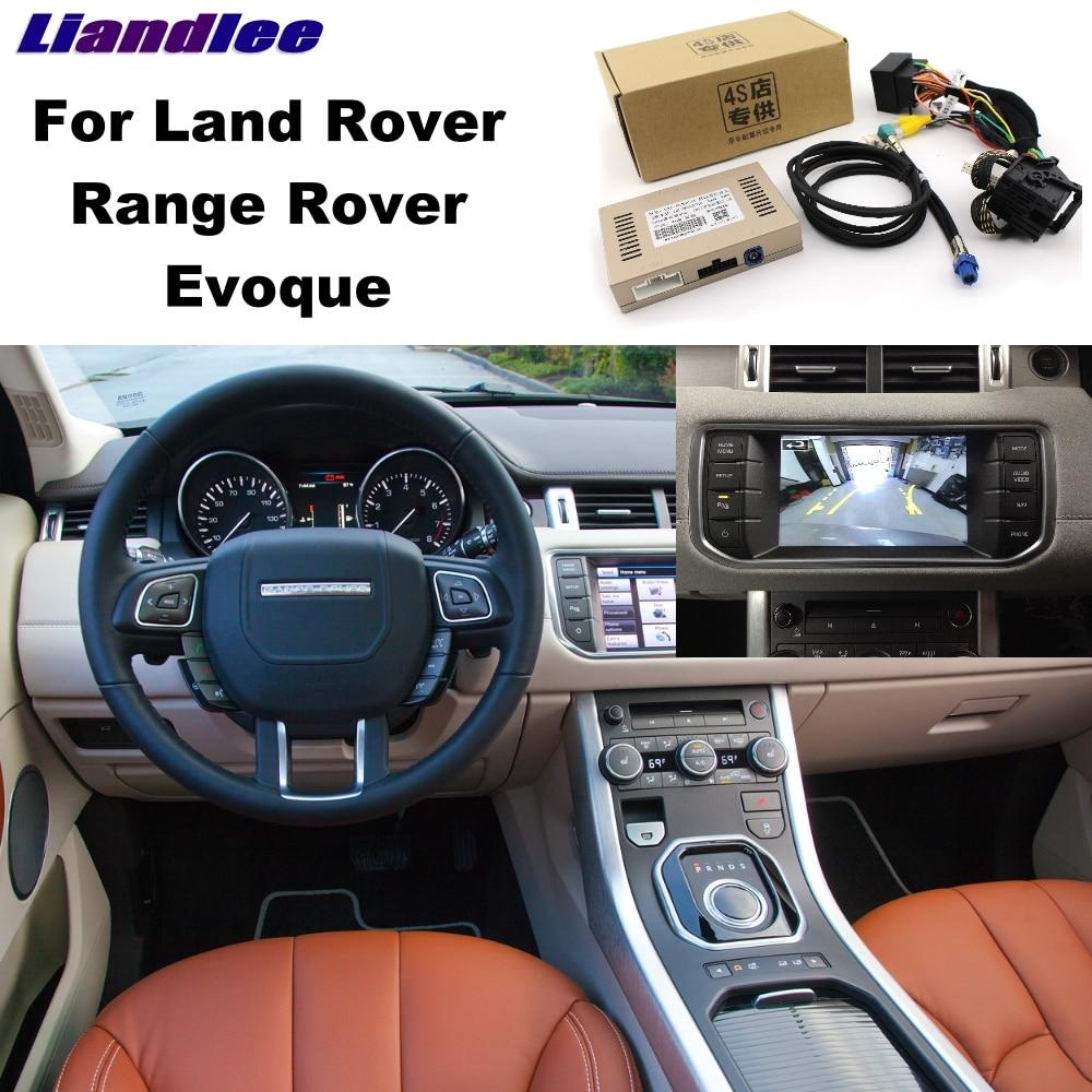Liandlee Parking Caméra Interface Inverse Back Up Parc Caméra Kits Pour Rover Evoque Affichage D'origine Mis À Jour