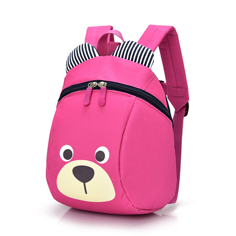 Cartoon Children Backpack Kids Boys Girs Small Cute Backpacks Kindergarten Baby Canvas Back Pack