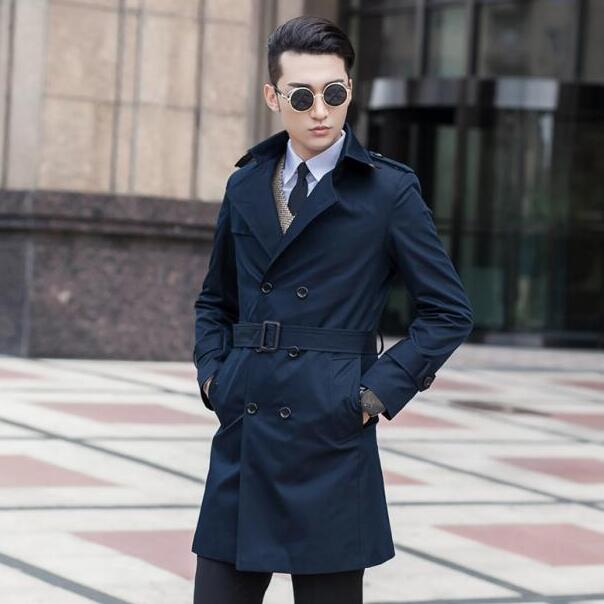 The trench coat has been a staple of men's wardrobes since it first debuted as officers' garb prior to World War I. Designed by Thomas Burberry, it's never been 'out' of style, but this icon of British design has enjoyed a renaissance in popularity of late, powered by the resurgence of Burberry.