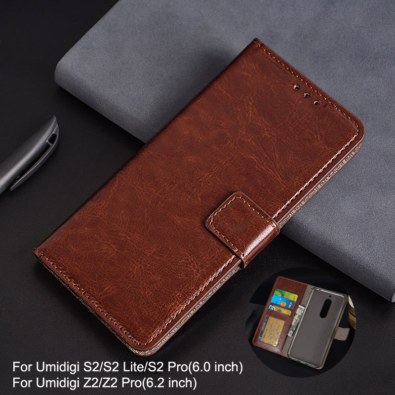 Für Umidigi S2 Lite Fall Brieftasche Stil Foto Rahmen Leder Fall für ...