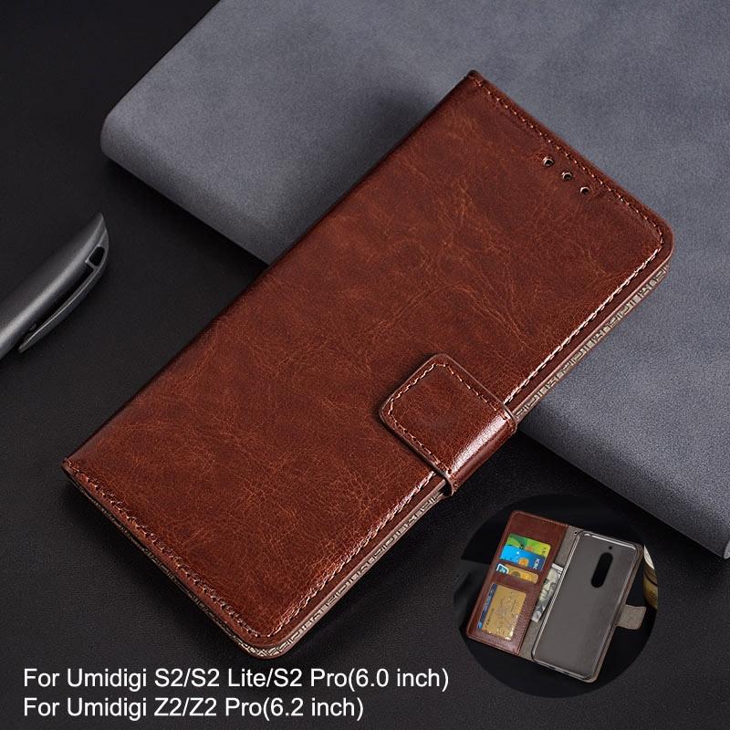 For Umidigi S2 Lite Case Wallet Style Photo Frame Leather Case for Coque Umidigi S2 Z2 Pro Flip Luxury Wallet Card Holder