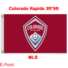 1 piece 144cm*96cm size MLS Colorado Rapids Flying flag