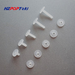 Plastic Nylon Binding Nut Fasteners Screws Corrugated Binder Post Lock Button Rivet Studs Twisted By Hand Environmental 200sets