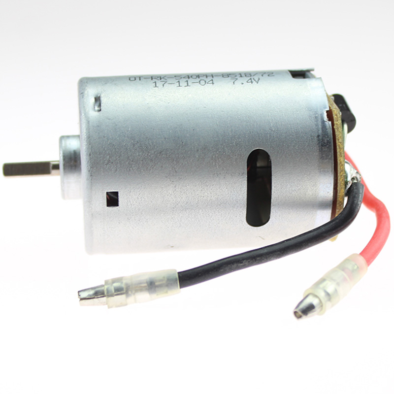 Image 5 - Rc Car Spare Parts 540 Electric Motor 12428 0121 7.4V 540 Motor For Wltoys 12428 12423 Electric Machinery-in Replacement Parts & Accessories from Consumer Electronics