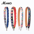 MSMO Strapper You Leather Flower Bag Strap Belt Shoulder Bag Accessories Belts Long Handbag Band Replacement Strap for Handbag