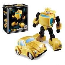 Comic club kbb g1 robô de bolso, figura de ação de guerra, transformação daman MSC-02 msc02 ko newage grande brinquedos, brinquedos