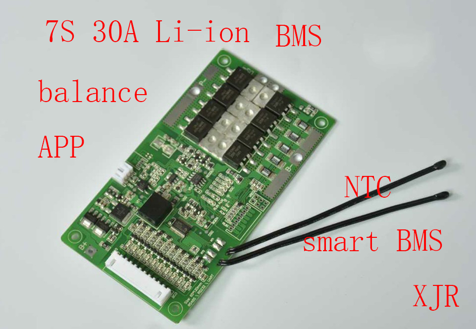 7s 30a Lipo Lithium Polymer Bms  Pcm  Pcb Battery Protection