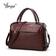 YBYT brand weinlese-beiläufigen frauen pu-leder medium handtaschen weibliche luxustaschen qualitätsgeschäftsbeutel damen umhängetaschen