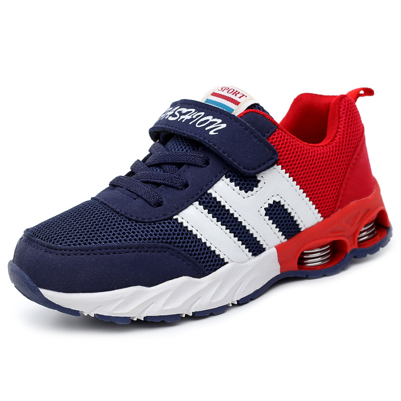 New Design Children Sports Shoes Boys Girls Spring Damping Outsole Slip Patchwork Breathable Kids Sneakers Child Running ShoesNew Design Children Sports Shoes Boys Girls Spring Damping Outsole Slip Patchwork Breathable Kids Sneakers Child Running Shoes