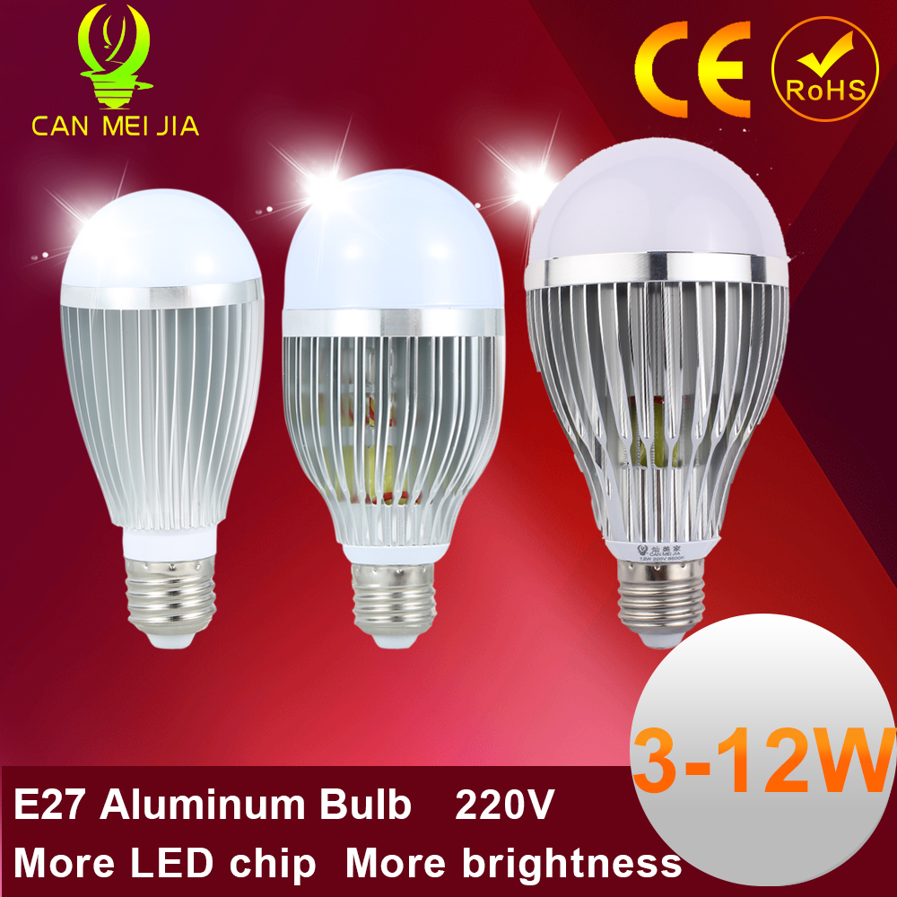 1pcs Led Energy Saving Lamp E27 Aluminum 220V High Qulity Led Bulb E27 3W 5W 7W 9W 12W Home Lighting  Led Light SMD 5730 indoor energy чайник energy e 205 1 7 л диск синий