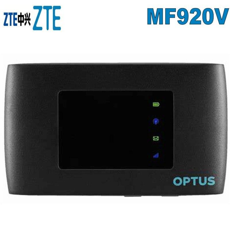Nouveau débloqué Optus 4GX Wifi 4G ZTE MF920v Modem 32 appareils