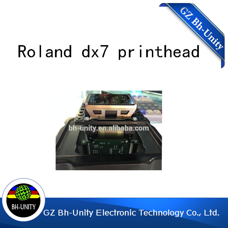 original new roland  mimaki mutoh  dx7 solvent print head  for sale eco solvent printhead adpater for dx4 print head for mimaki jv2 jv4 jv3 for roland for muoth on high quality