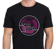 2017 Hot Sale New T Shirt Men'S Short Thin Lizzy Night Life Panther Logo Retro Tall T Shirt цена и фото