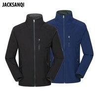 JACKSANQI Men's Thermal Softshell Thin Jackets Outdoor Sports Coat Hiking Climbing Fishing Trekking Men Windbreakers RA190|Hiking Jackets| |  -
