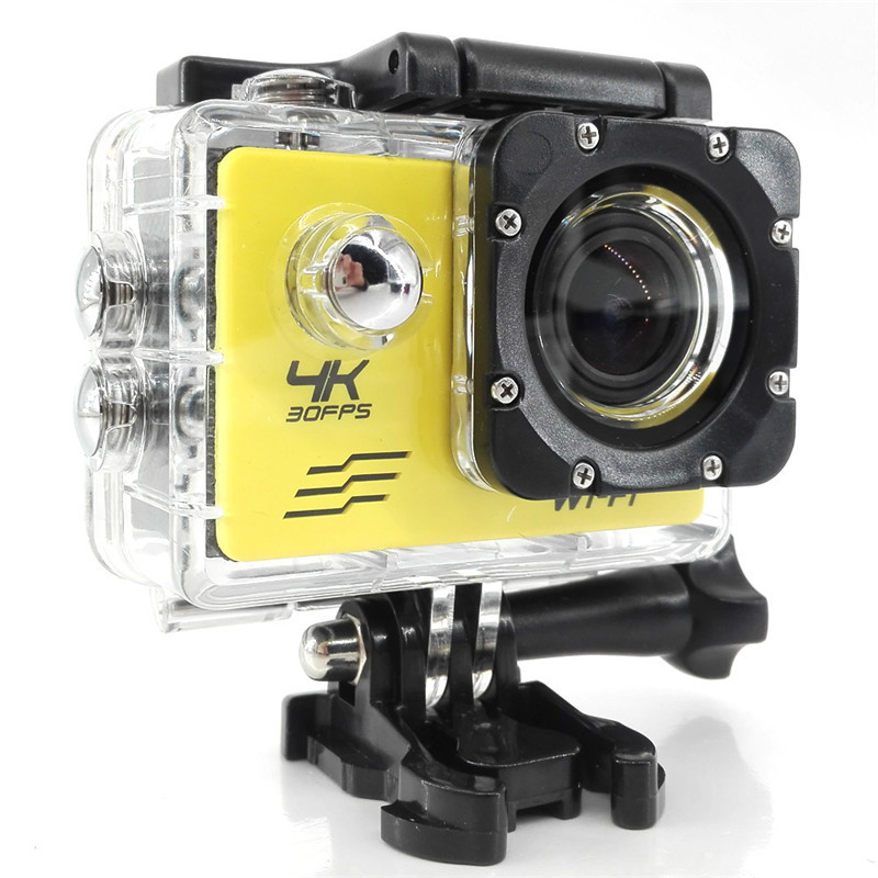 Ultra HD 4K Action Camera Wifi Camcorders 16MP 170D Go Cam SJ Pro 4 K deportiva 2 inch F60R Waterproof Sport Camera 1080P 60fps action camera deportiva eken v8s ultra hd 4k ambarella a12 wifi electronic image stabilization go waterproof pro sport dv camera