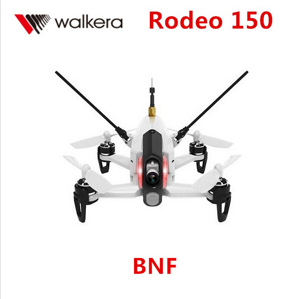 F17997 Original Walkera Rodeo 150 Quadrocopter with DEVO 7 Remote Control Racing Drone with 600TVL Camera RTF BNF walkera rodeo 150 bnf without transmitter rc racing drone with 600tvl night vision camera 150 size