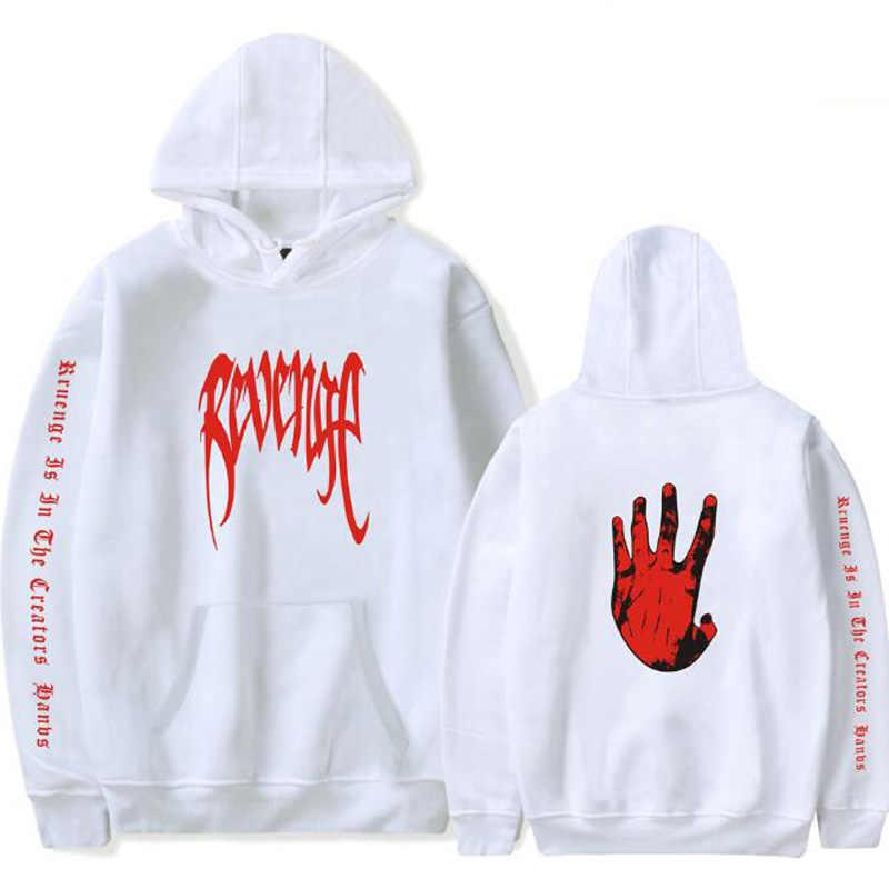 Venganza XXXTentacion matar hombres sudaderas con capucha rapero XXX  Tentacion sudor camisa Homme Hip Hop Sudadera 782c3051e4eee
