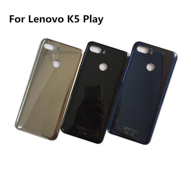 info for 99050 e7e76 US $8.99 |Original Back Cover for Lenovo K5 Play Battery Cover Housing Door  Panel Case with adhesive tape repair part -in Mobile Phone Housings from ...