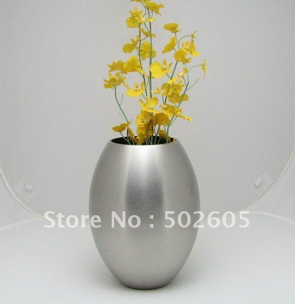 Stainless Steel Vase Metal Vaseflower Vase In Vases From Home