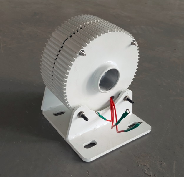 Générateur ac à aimant Permanent sans brosse 12 V 24 V 48 V 300 W avec Base, 600 tr/min et faible couple de démarrage PMG - 3