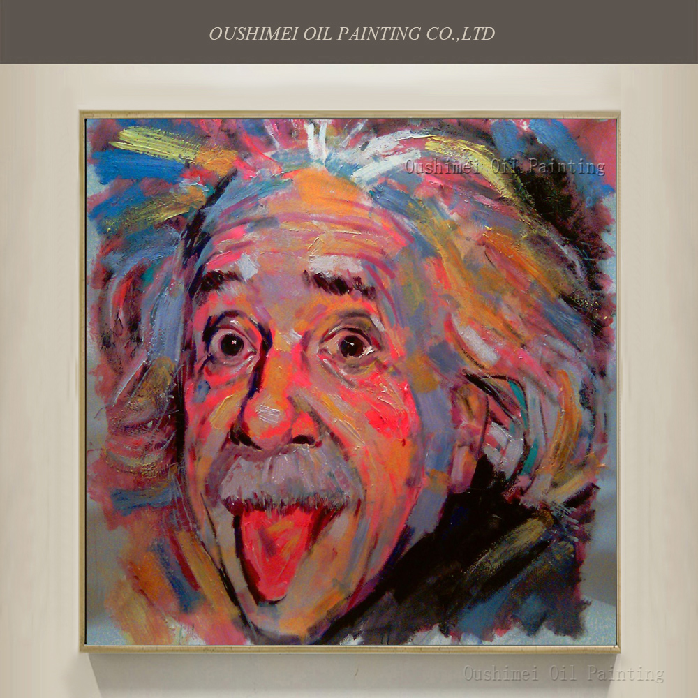 Смішно розроблений Ейнштейн стирчить - Домашній декор