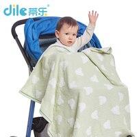 Dile Baby Bath Khăn 100% Bông Gạc Rắn Em Bé Mới Sinh Ra Khăn Siêu Mềm Mạnh Mẽ Hấp Thụ Nước 1 Piece 90*90 cm