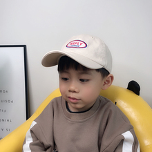 Kids Adjustable Baseball Caps Summer Baby Letter Embroidery Cotton Cap Boys Girls Hats Children Snapback Hip Hop Sun Hat
