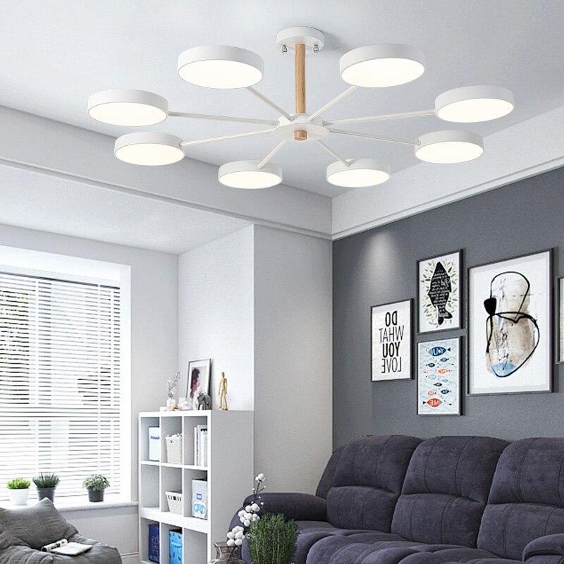 โคมไฟเพดานห้องนอนห้องนอนไฟเหนือศีรษะสำหรับ home living ไม้ออกแบบตกแต่งติดตั้งโคมไฟเพดาน led โมเดิร์น-ใน ไฟเพดาน จาก ไฟและระบบไฟ บน title=