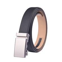 Men's Automatic Buckle Genuine Leather Belt