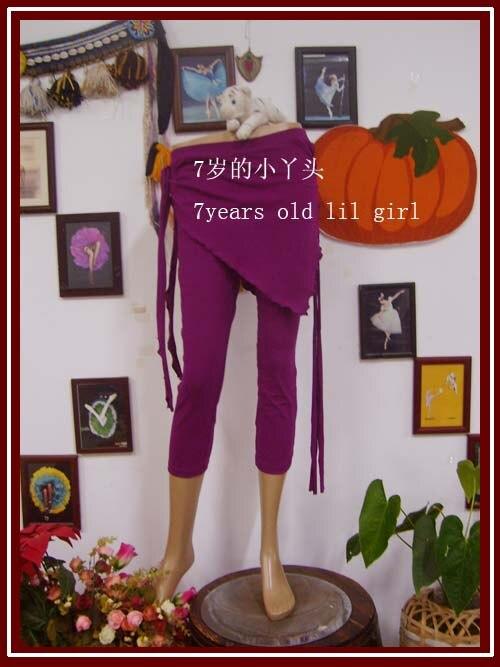 ✔  Лайкра из хлопка племени Belly Dance йога обтягивающие брюки-капри с юбкой обтягивающие брюки узкие  ★