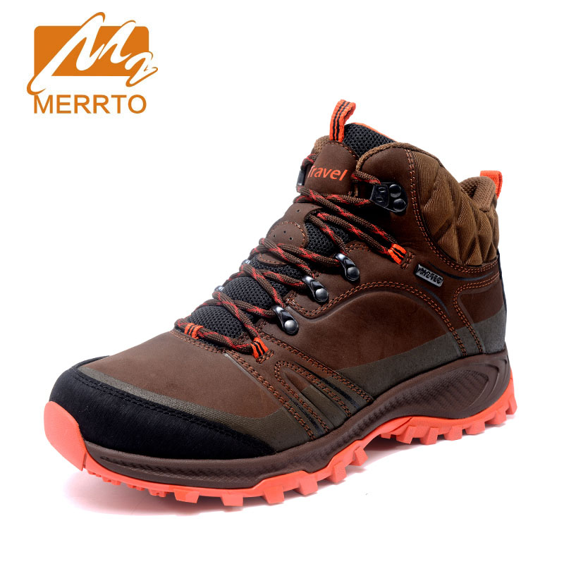 Merrto 2017 New Autumn Winter Brand Outdoor Hiking Shoes Men's Sport Cool Trekking Mountain Man Climbing Athletic Shoes brand new autumn winter men hiking pants windproof outdoor sport man camping climbing trousers big sizes m 4xl free shipping