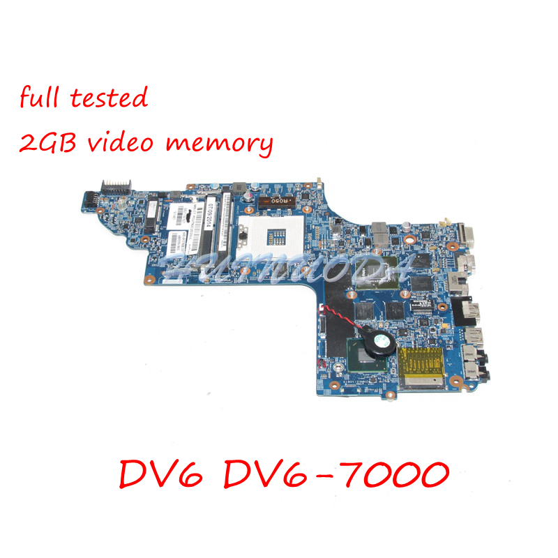 NOKOTION 682174-501 682174-001 Main Board For HP pavilion DV6 DV6-7000 Laptop Motherboard 48.4ST06.021 GT650M 2GB full tested free shipping 682174 501 for hp pavilion dv6 dv6t dv6 7000 series motherboard with gt650m 2g all functions 100% fully tested