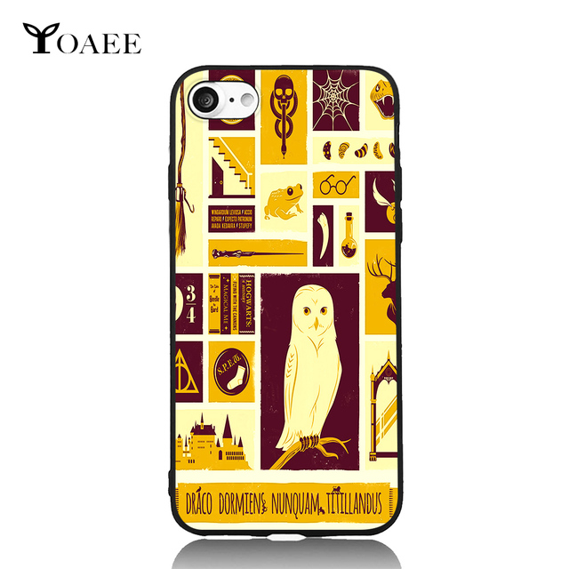 Symbols Of Harry Potter Fun Art For Iphone 6 6s 7 Plus Case Tpu