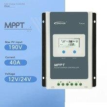 4210AN traseran серии MPPT 40A 12 В 520 Вт 24 в 1040 Вт Авто лучшая панель солнечных батарей с зарядным устройством с ЖК-дисплеем контроллер солнечной зарядки EPEVER