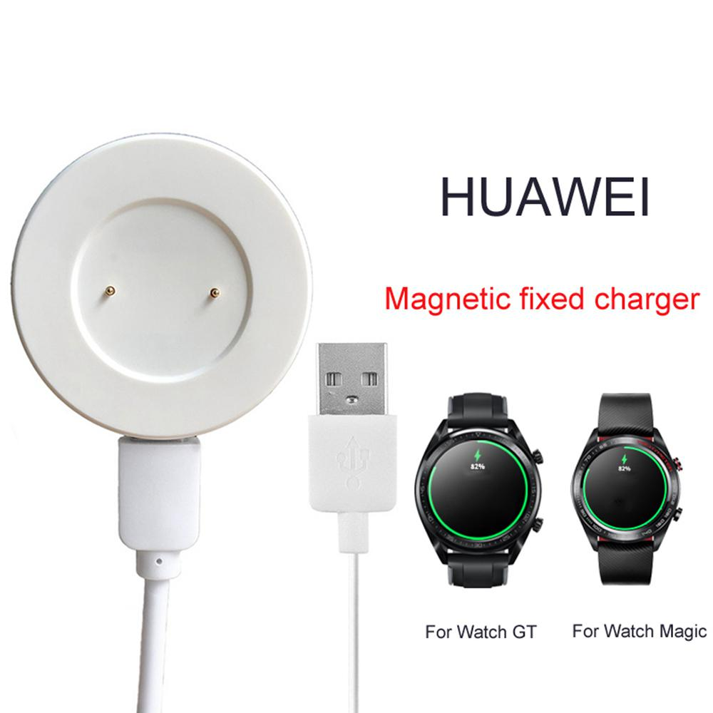 Smart Watch Charger For Huawei Watch GT Honor Magic Watch Magnetic fixed Secure Fast Charging Cradle Dock USB Charger Cable New in Smart Accessories from Consumer Electronics