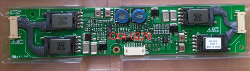 Inverter CXA-0370 PCU-P154E completely substitute new high pressure plate cxa 0373 pcu p158b original tdk lcd inverter high voltage switchboard board