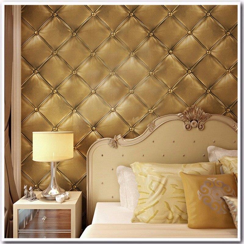 ▽Vintage Wood Grain Wallpaper Non-woven Breathable 3D Wooden Plank ...