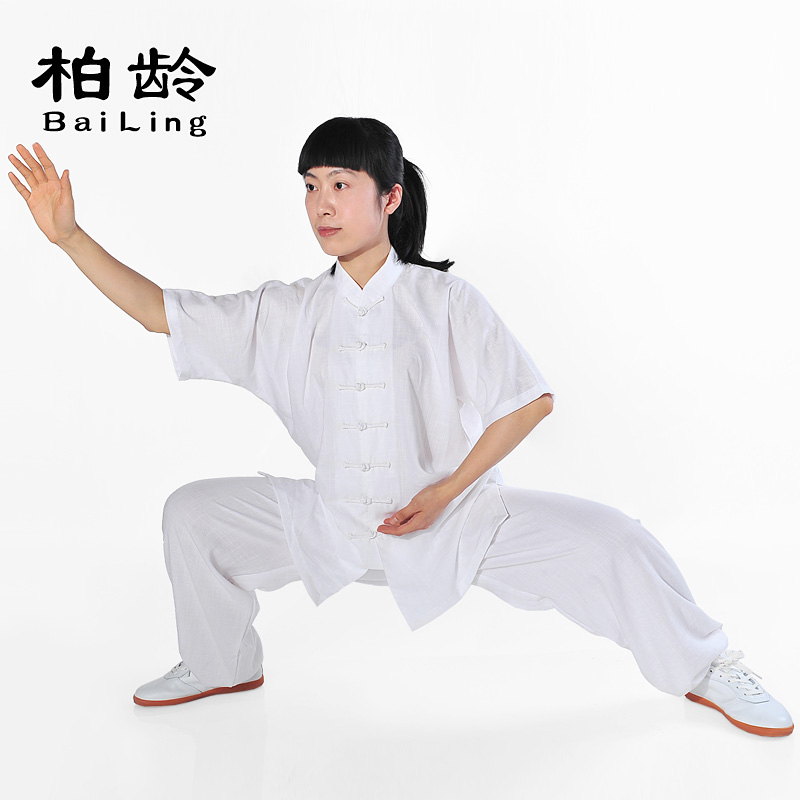 2d0ab5283 Chinese Traditional Dress Short Sleeve Sets TaiChi Clothing Kungfu  ClothesTaiji Wushu Cotton 75% Nylon 25% Unisex(Women/Men) on Aliexpress.com  | Alibaba ...