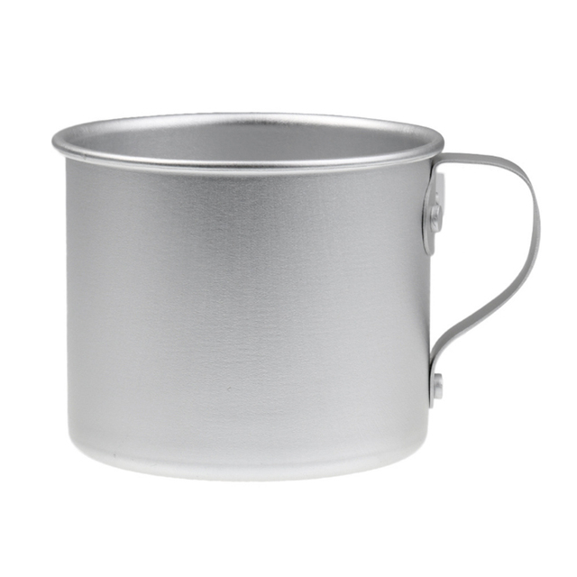 1PCS outdoor aluminum small cup camping mountaineering hunting outdoor cup