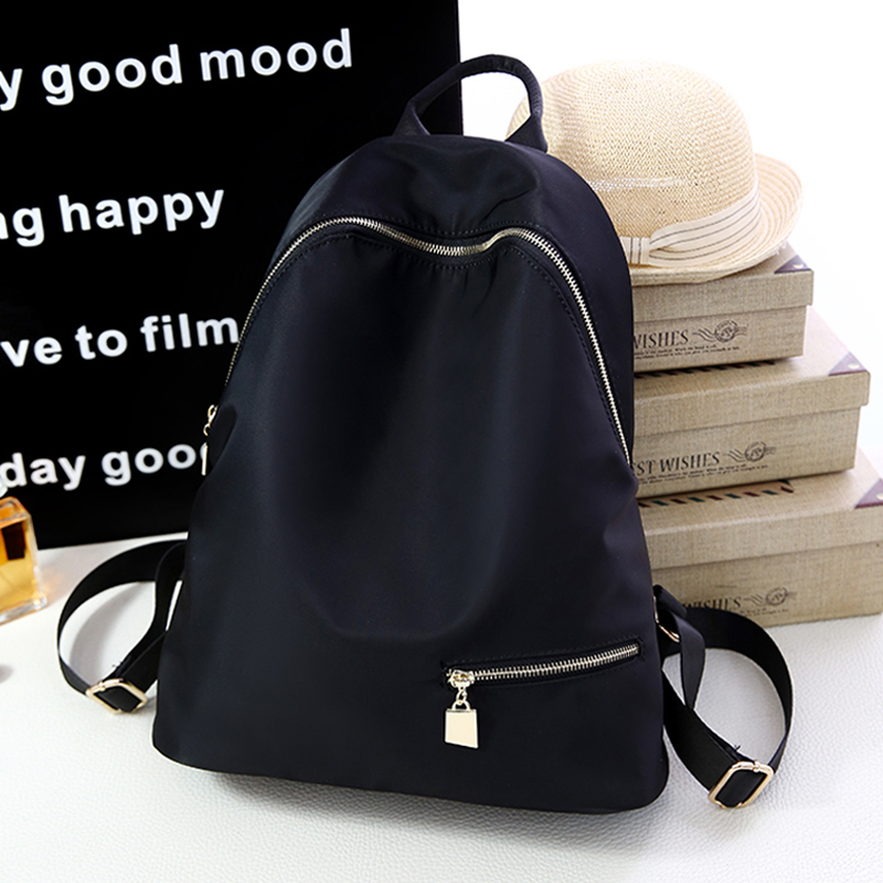ФОТО New High Quality Oxford Backpack Fashion Leisure Personality Rucksack Solid Color Simplicity School Bags