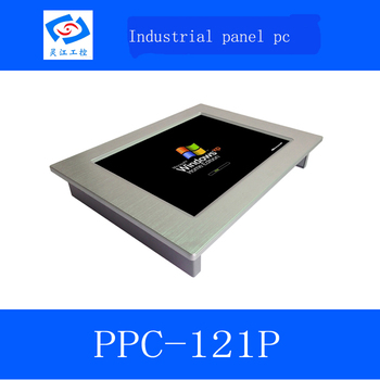 """windows 10 system 12.1"""" TFT LCD Touch screen industrial Panel PC for kiosk"""