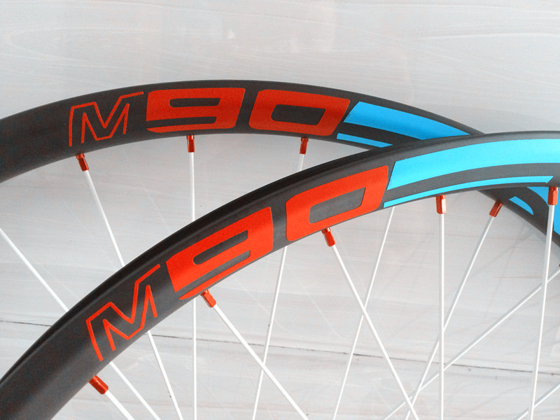 Carbon hookless 27.5er Tubeless MTB rim 25mm depth x 35mm width external UD matte 650B /29er carbon XC AM MTB rim