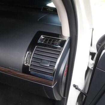 Tapas De Salida De Metal | Gelinsi Para Toyota Prado 2018 Estilismo Para El Panel De Mandos A/C De Ventilación De Aire De Salida Panel Cover Molduras De Marcos Etiqueta Interior Accesorios
