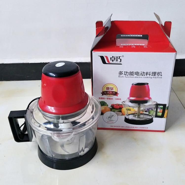 3l moedor de carne spice alho vegetal chopper elétrico automático máquina picar alta qualidade moedor doméstico processador alimentos