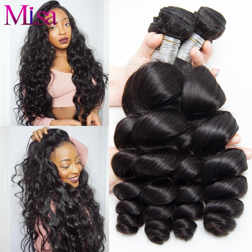 Popular Loose Wave Human Hair Weave Buy Cheap Loose Wave