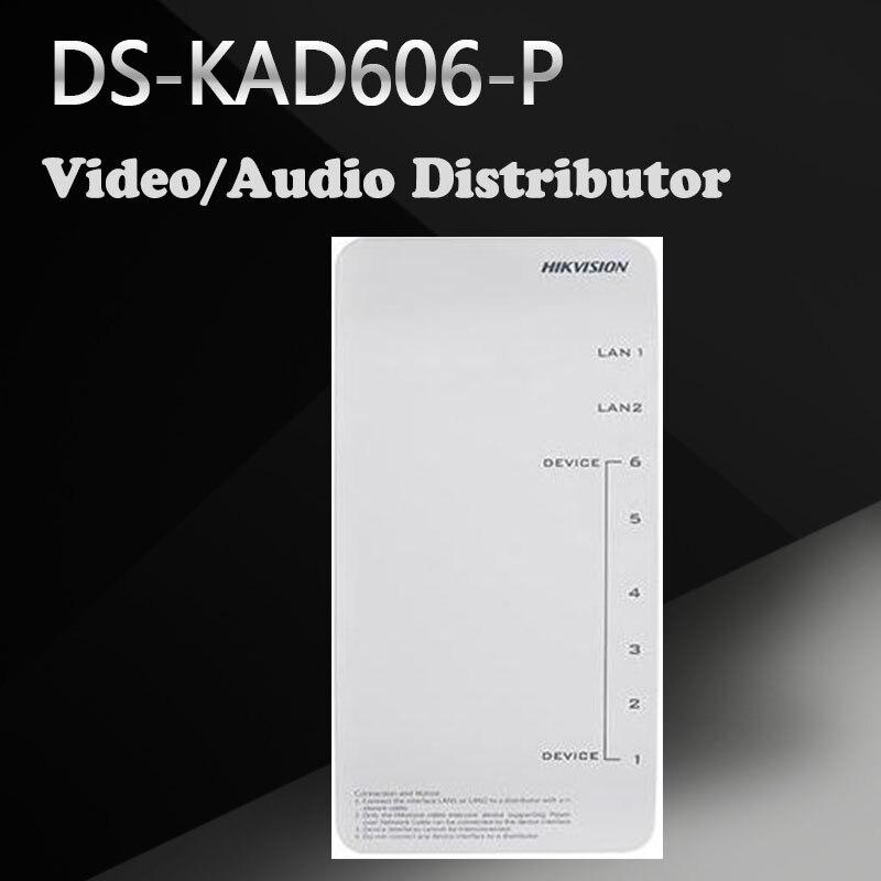 цена Hikvision DS-KAD606-P Video/Audio Distributor онлайн в 2017 году