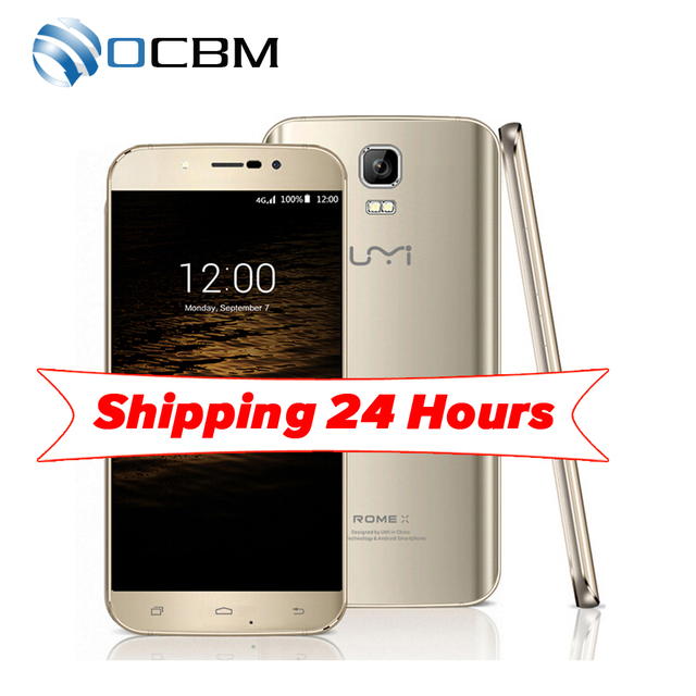 Original Umi Rome X MTK6580 Quad Core 5.5inch Android 5.1 1GB RAM 8GB ROM 1280x720 8.0MP WCDMA Dual SIM Mobile Phone