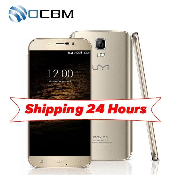Original Umi Rome X MTK6580 Quad Core 5.5inch Android 5.1 1GB RAM 8GB ROM 1280x720 8.0MP WCDMA Dual SIM Mobile Phone