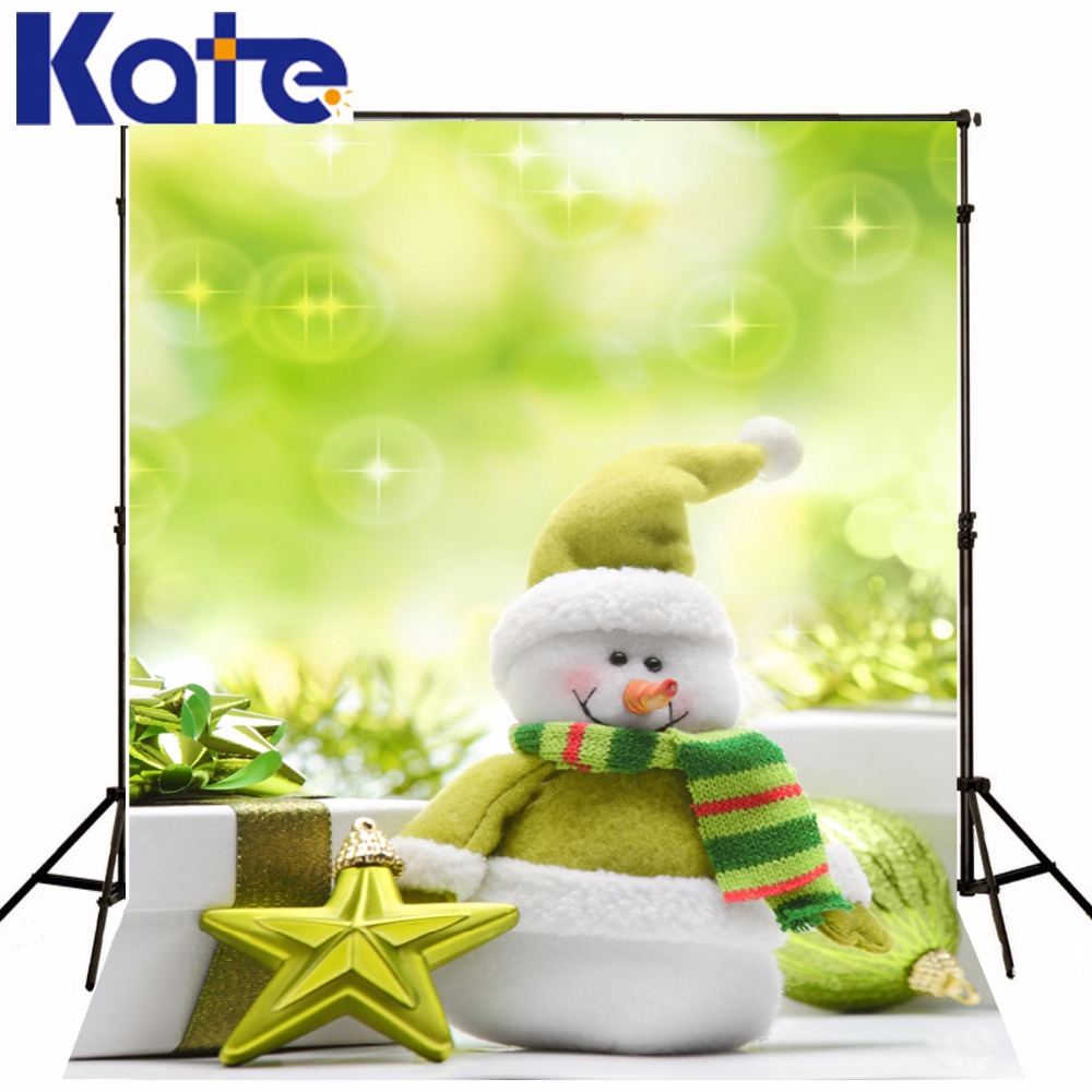 Christmas Backdrops For Photography The Snowman Gift Venus  5X7Ft(1.5X2.2M) Photo Studio Backdrop Zj the snowman