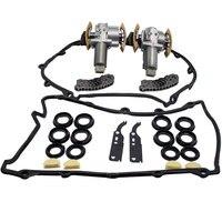 Комплект из 4 предметов натяжитель цепи комплект L + R для Audi A6 A8 VW для Phaeton и Touareg V8 4.2L 077109088 077109087 077109087C